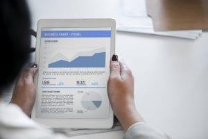 customer data chart