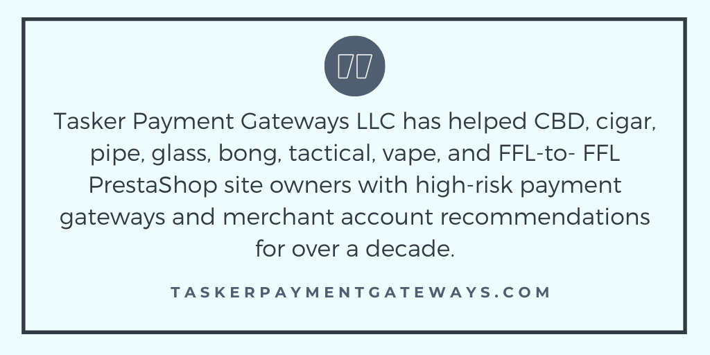 Prestashop - high-risk merchant account and gateway recommendations- quote image