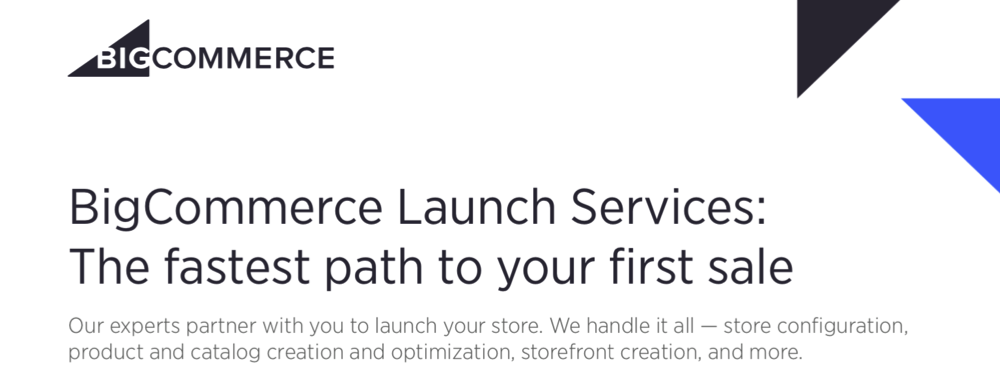 BigCommerce Launch Service