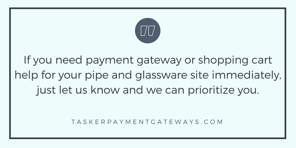 tasker payment gateways and pipe and glassware merchants payment gateway and shopping cart image